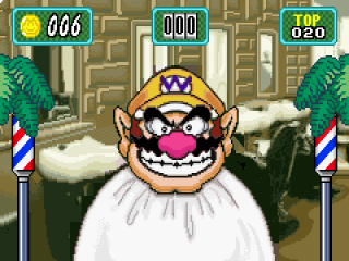 Wario's roulette is een van de minigames waarmee je items ontgrendelt in de item shop.