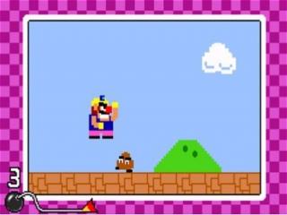 Dit spel bevat vele gekke minigames.