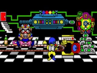 De minigames worden gefabriceerd door Wario's machine.