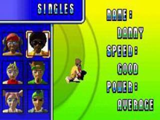 Kies je favoriete tennisspeler en neem deel aan een kampioenschap.