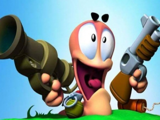 Worms Blast is een puzzelspel met knotsgekke wapens, power-ups en... wormen!
