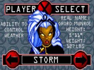 Speel als verschillende X-men zoals Wolverine, Cyclops, Storm en anderen.