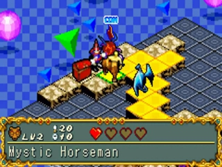Yu-Gi-Oh Dungeon Dice Monsters: Screenshot