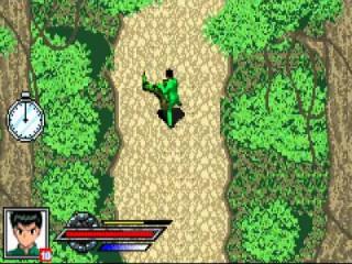 Goede camouflage tussen die groene struiken.