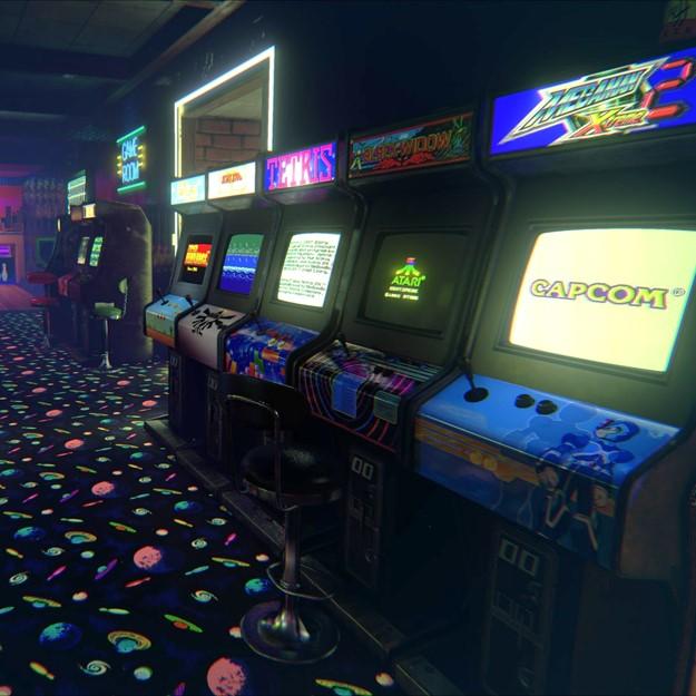 Arcade games op de GBA