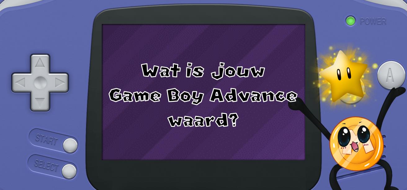Wat is jouw Game Boy Advance waard?