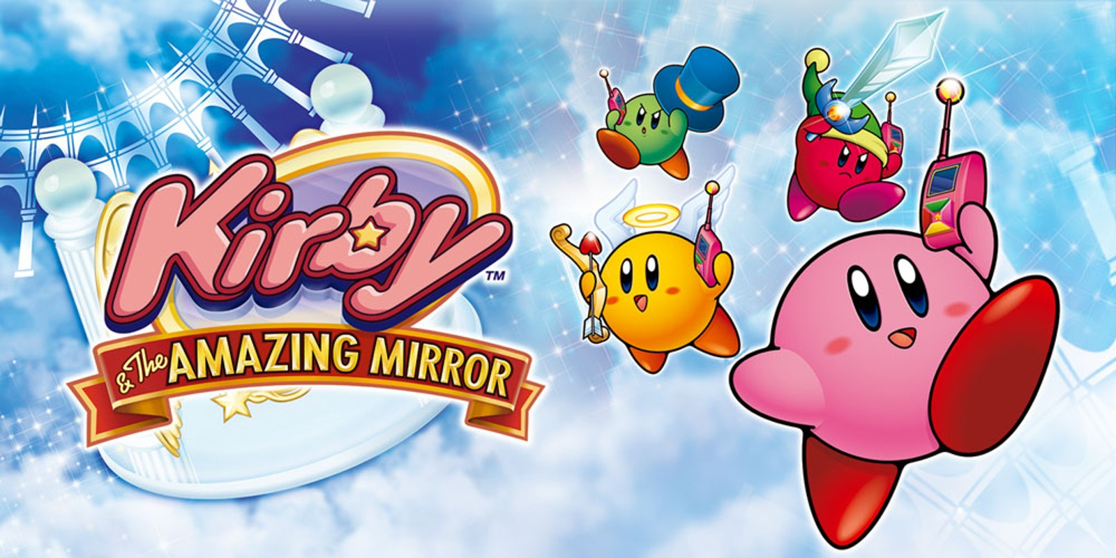 Kirby & The Amazing Mirror (Game Boy Advance, 2004)