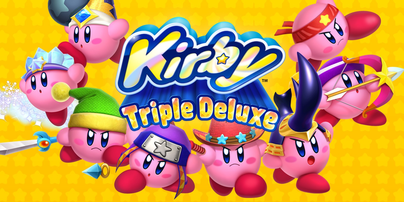 Kirby: Triple Deluxe (3DS, 2013)