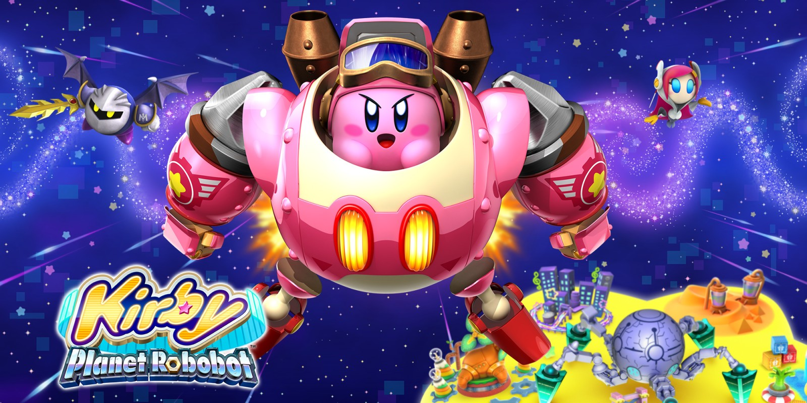 Kirby: Planet Robobot (3DS, 2016)