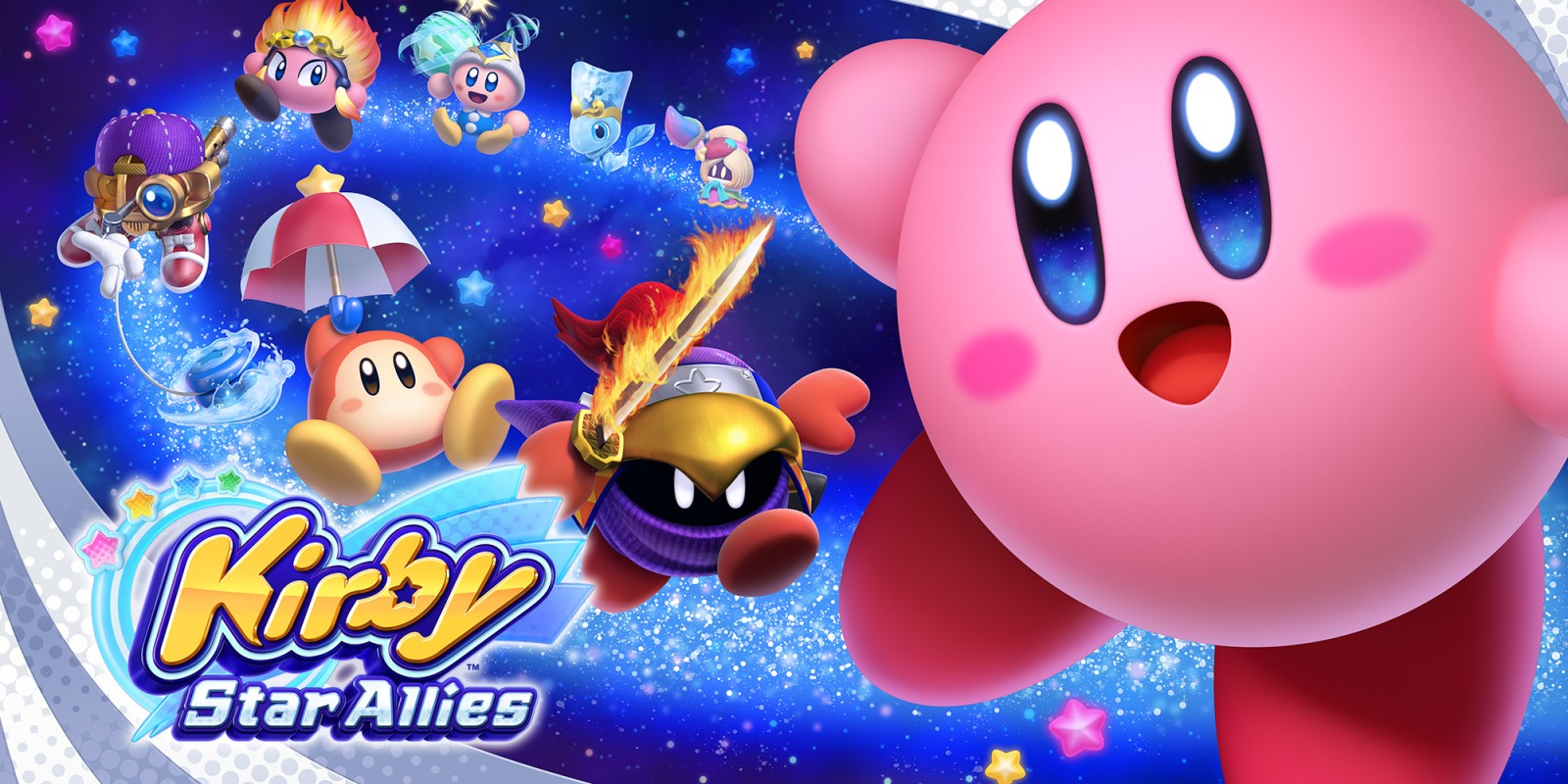 Kirby Star Allies (Nintendo Switch, 2018)