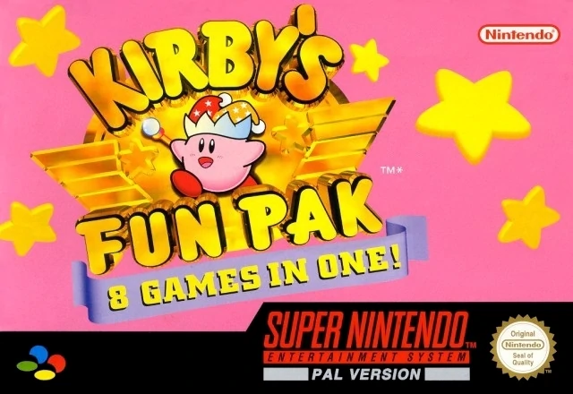 Kirbys Fun Pak (Super Nintendo Entertainment System, 1996)
