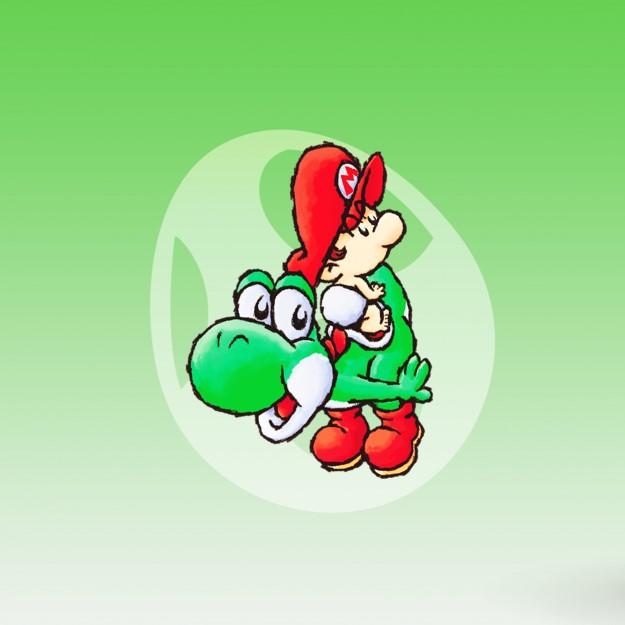 Yoshi voor de Nintendo GB en GBA